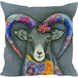 "подушка "" Flower goat """