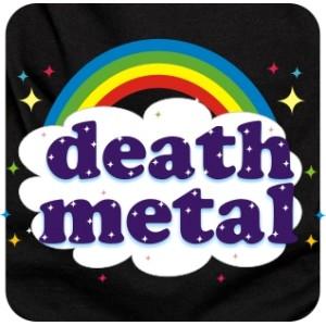 "майка  ""Death metal для няшек"""