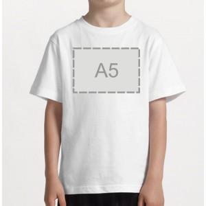 Детская майка + ваша картинка А5