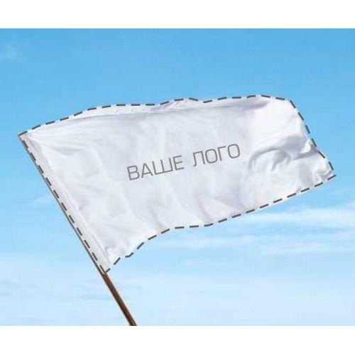 Односторонний флаг с вашим лого