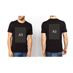 Майка + А3 с двух сторон
