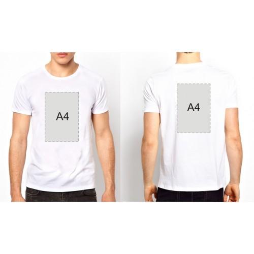 Майка +  А4 с двух сторон