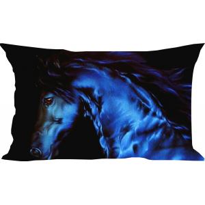 подушка  Blue horse