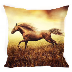подушка  Бегущая лошадь