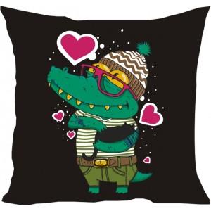 подушка Крокодильчик