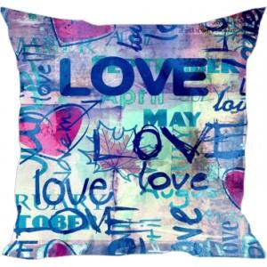 подушка Graffiti love