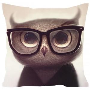 подушка Суровая сова