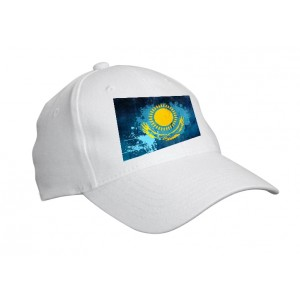"""Кепка """"флаг Казахстана"""""""