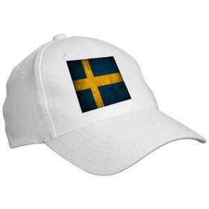"""Кепка """"флаг Швеции"""""""