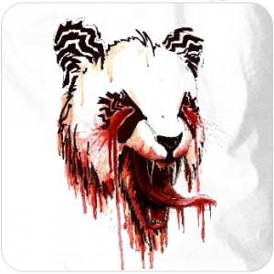 Bloody panda