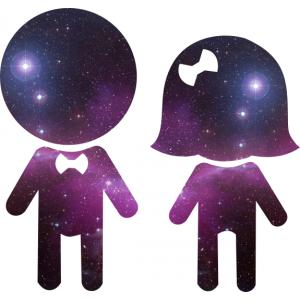 парные майки  Мы-космос - sale