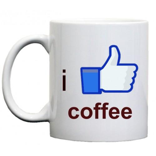 кружка I like coffee (я люблю кофе)