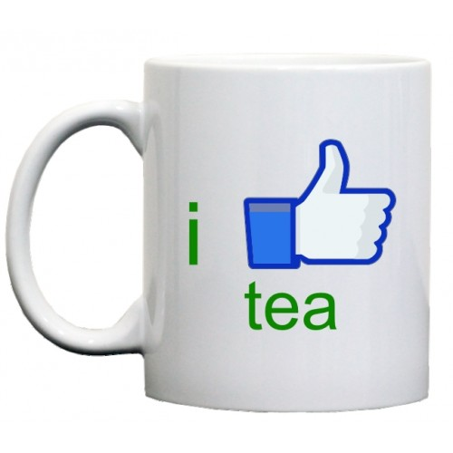 кружка I like tea (я люблю чай)