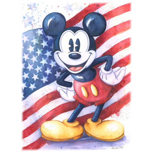 Patriot Mickey mouse