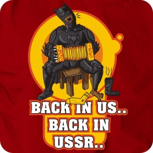 Бэтмен back in USSR