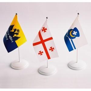 Флаги стран мира настольные 24*12 см с подставкой