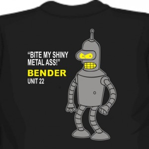 Bender - Bite my shiny metal ass