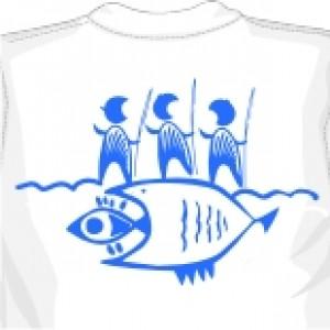 майка Доисторическая Рыбалка