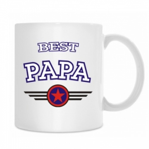 "Кружка ""Best PAPA"""